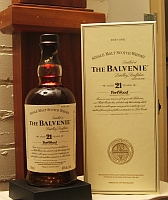 Click for a larger picture of Balvenie 21 year-old Scotch