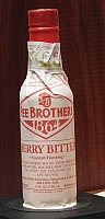 Click for a larger picture of Fee Brothers Cherry Bitters