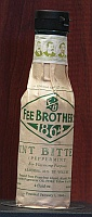 Click for a larger picture of Fee Brothers Mint Bitters