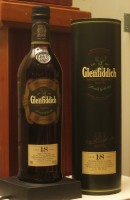 Click for a larger picture of Glenfiddich 18 year-old Scotch